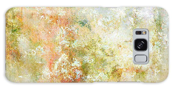 Enchanted Blossoms - Abstract Art Galaxy Case