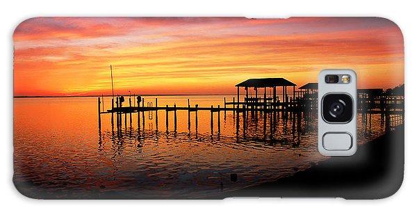 Enchanted Evening At The Hilton Pier Galaxy Case