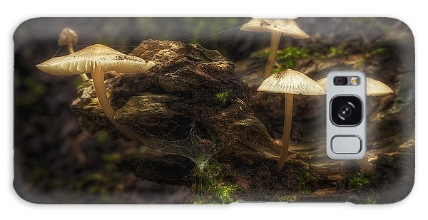 Mushroom Galaxy S8 Case - Enchanted Forest by Scott Norris