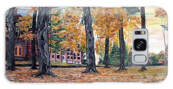 Enchanted Forrest In The Fall Galaxy Case by Denny Morreale