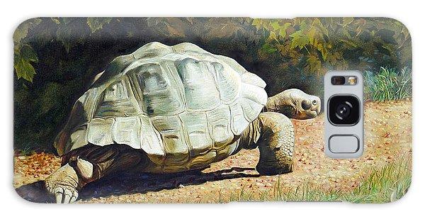 Enchanted Turtle's Terrific Journey Galaxy Case by Svitozar Nenyuk