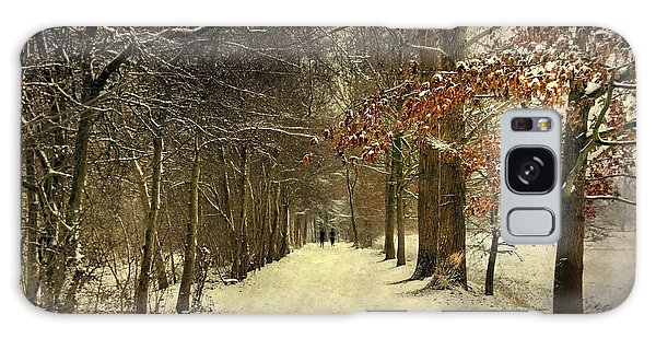Enchanting Dutch Winter Landscape Galaxy Case