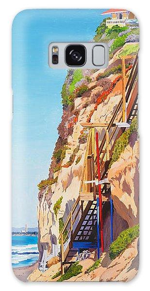 Encinitas Beach Cliffs Galaxy Case
