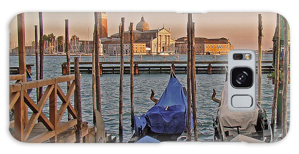 Venice End Of A Day Galaxy Case by Walter Fahmy