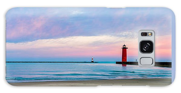 Galaxy Case featuring the photograph End Of The Blue Hour by Steven Santamour