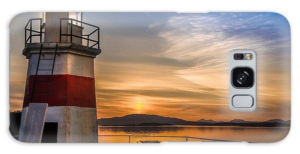 Lighthouse Crinan Canal Argyll Scotland Galaxy Case