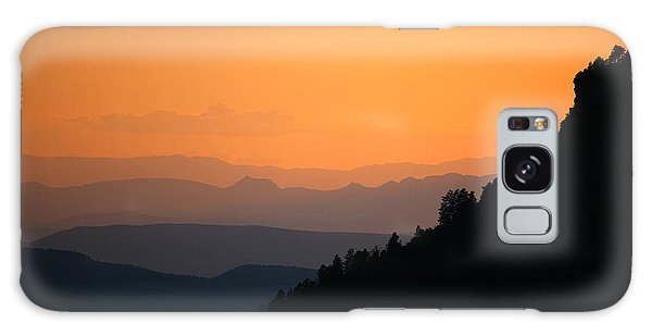 Galaxy Case featuring the photograph End Of The Day by Brad Brizek