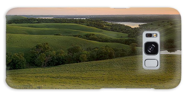 End Of The Day In The Flint Hills Galaxy Case by Scott Bean