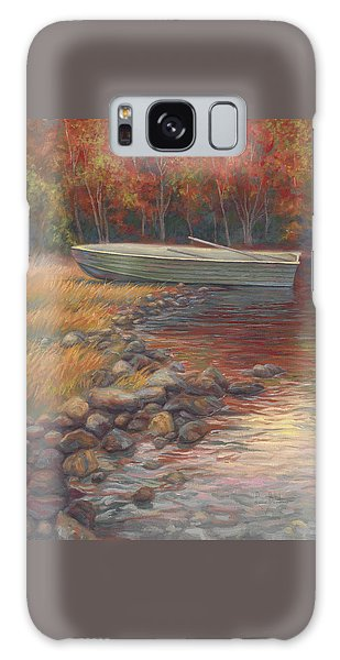 Scenery Galaxy Case - End Of The Day by Lucie Bilodeau
