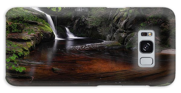 Galaxy Case featuring the photograph Enders Falls Spring by Bill Wakeley