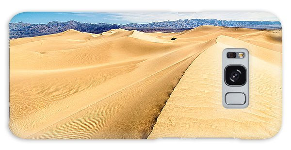 Sand Dunes Galaxy Case - Endless Dunes - Panoramic View Of Sand Dunes In Death Valley National Park by Jamie Pham