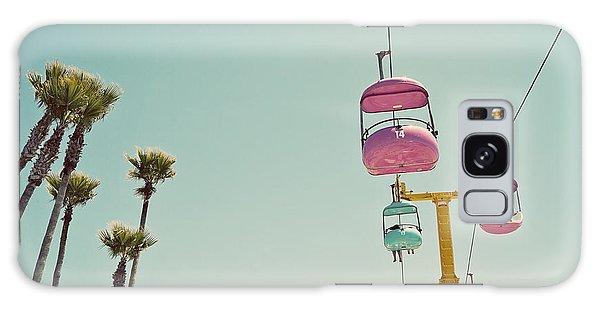 Endless Summer - Santa Cruz, California Galaxy Case