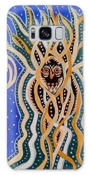 Energy Of The Night Galaxy Case by Carolyn Cable
