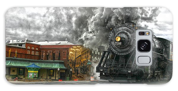 Engine 734 On The Western Maryland Scenic Railroad  Galaxy Case by Jeannette Hunt