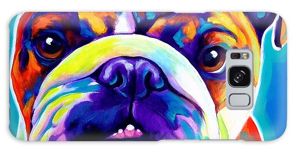 Bulldog - Bond -square Galaxy Case