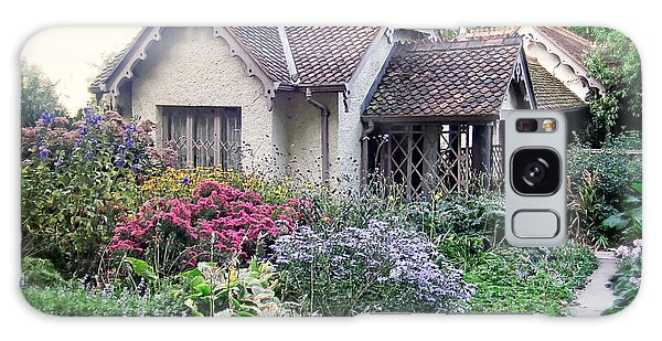 Cottage Galaxy Case - English Cottage Garden by Edward Fielding