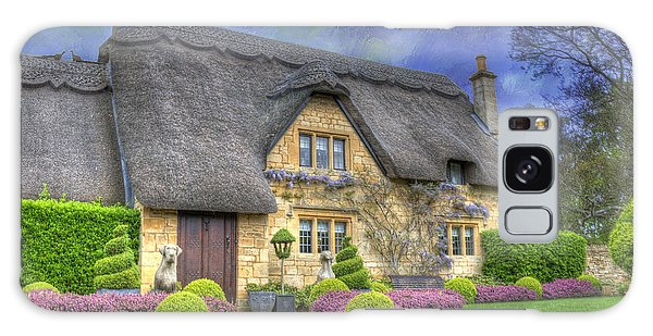 English Country Cottage Galaxy Case
