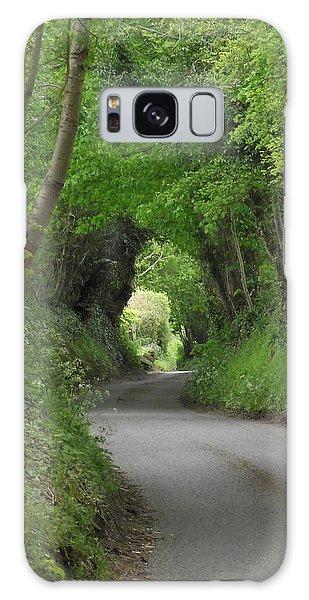 English Country Lane Galaxy Case
