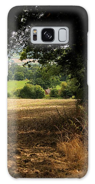 English Countryside Galaxy Case