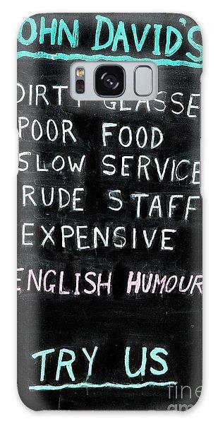 English Humor Galaxy Case