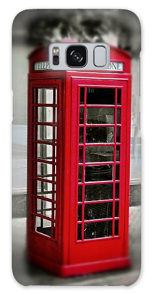 English Phone Booth 1 Galaxy Case