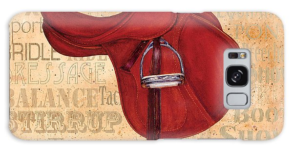 English Saddle - Tea Stained Galaxy Case