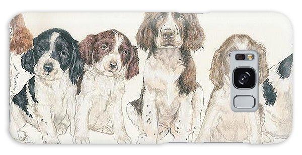 English Springer Spaniel Puppies Galaxy Case