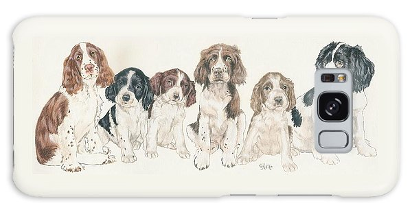 English Springer Spaniel Puppies Galaxy Case