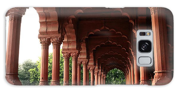 Engrailed Arches, Red Fort, New Delhi Galaxy Case
