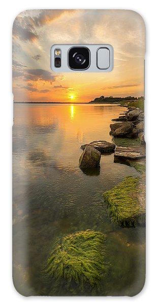 Enjoying Sunset Galaxy Case by Scott Bean