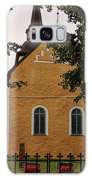 Galaxy Case featuring the photograph enkoepingsnaes church from east Db by Leif Sohlman