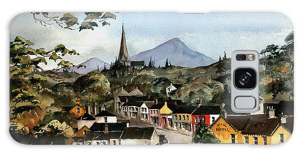 Enniskerry Panorama Wicklow Galaxy Case