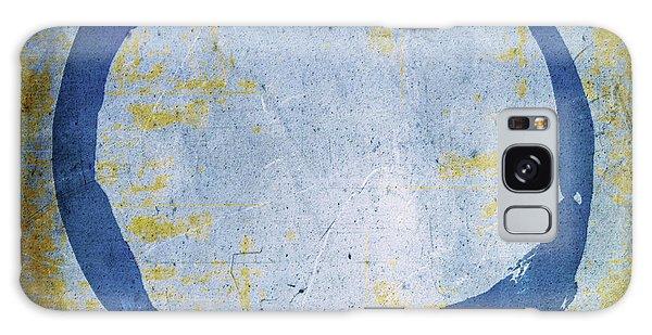 Enso No. 109 Blue On Blue Galaxy Case