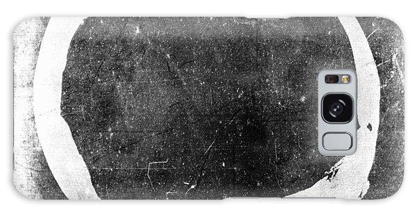 Enso No. 109 White On Black Galaxy Case