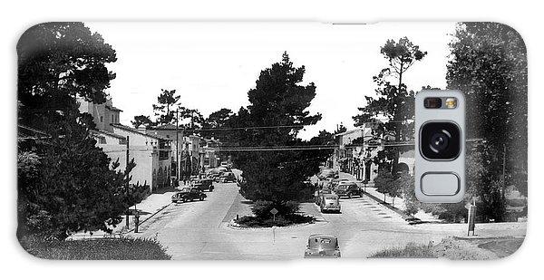 Entering Carmel By The Sea Calif. Circa 1945 Galaxy Case by California Views Mr Pat Hathaway Archives