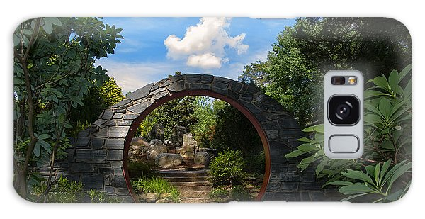 Entering The Garden Gate Galaxy Case