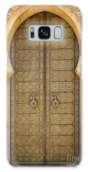 Entrance Door To The Mausoleum Mohammed V Rabat Morocco Galaxy Case