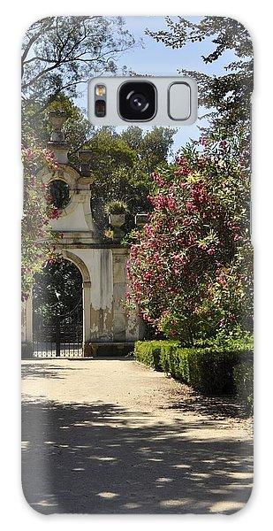 Entrance To A Secret Garden Galaxy Case by Sandy Molinaro
