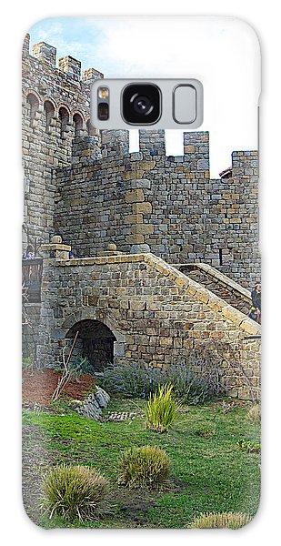 Entrance To Castello Di Amorosa In Napa Valley-ca Galaxy Case