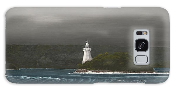 Entrance To Macquarie Harbour - Tasmania Galaxy Case by Tim Mullaney