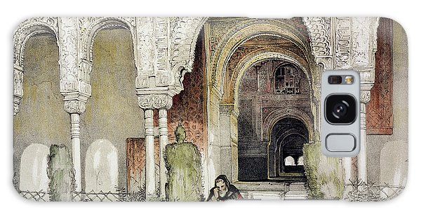 Influence Galaxy Case - Entrance To The Hall Of The Two Sisters by John Frederick Lewis