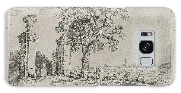 Pasture Galaxy Case - Entrance To The Villa Nooit Gedacht, Eberhard Cornelis Rahms by Eberhard Cornelis Rahms
