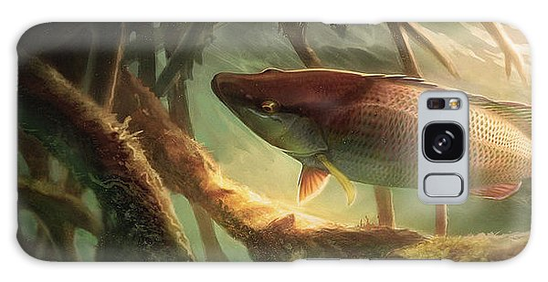Mangrove Snapper Galaxy Case - Entre Mangles by Javier Lazo