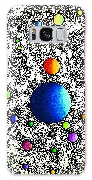 Entropy Color Variation 4 Galaxy Case by Devin  Cogger