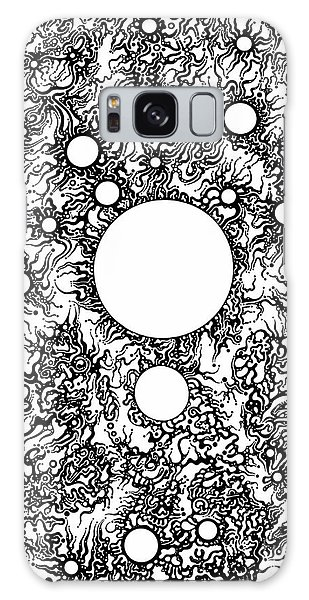 Entropy Colorless Galaxy Case by Devin  Cogger