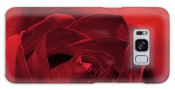 Enveloped In Red Galaxy Case by Phyllis Denton