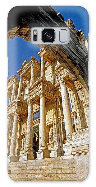 Ephesus Library 2 Galaxy Case by Dennis Cox WorldViews