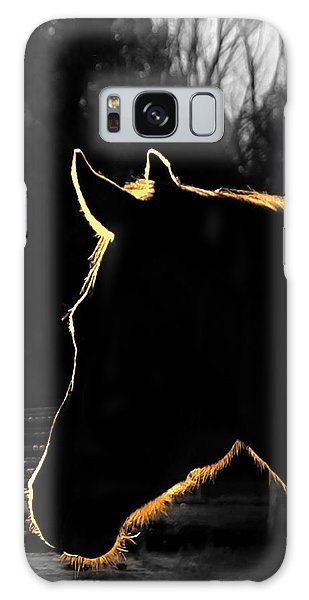 Equine Glow Galaxy Case
