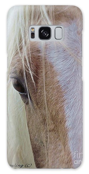 Equine Head Study Galaxy Case by Laurinda Bowling
