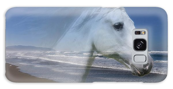 Equine Shores Galaxy Case by Athena Mckinzie